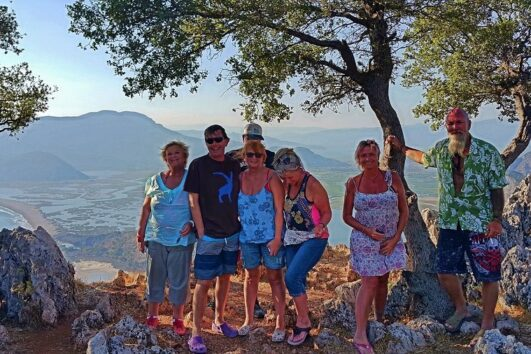 Dalyan Sunset - with friends