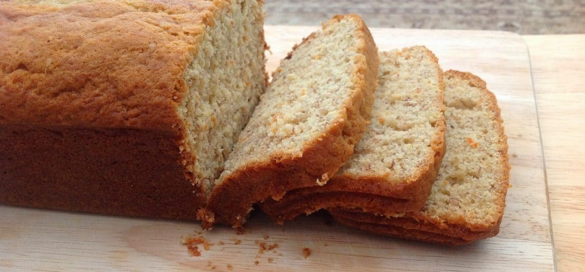 Turkish orange cake - Sliced loaf