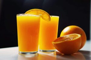 Turkish Orange Cake - Orange juice
