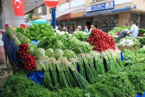 Turkish herbs - Market stall