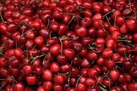 Baked cherry cheesecake - cherries galore