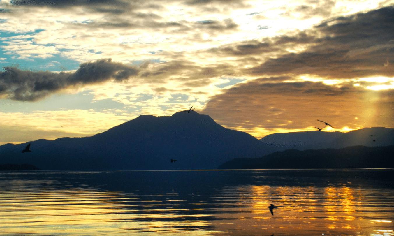 View of Koycegiz Lake