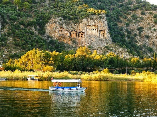 recent History of Dalyan - Mentesoguları and Ottoman empire