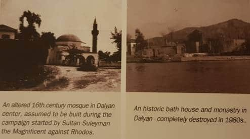 old pictures of dalyan