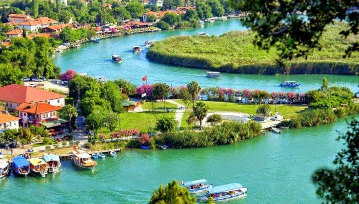 Dalyan Attractions - Beautiful Dalyan.