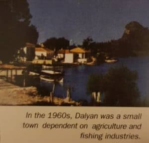small town dalyan in 1960's