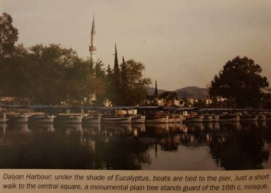 Dalyan Attractions - Dalyan harbour and mosque