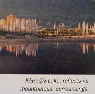 Köyceğiz Lake reflection