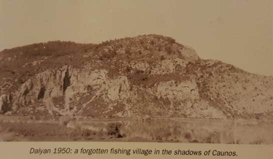 Dalyan picture from 1950 - Iztuzu Beach and Dalyan Gate