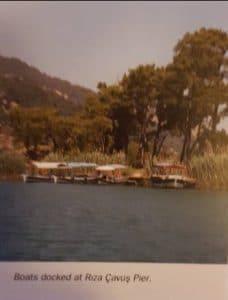 Boats at Rıza Çavuş Pier