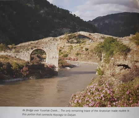 Ak Bridge over Yuvarlak creek