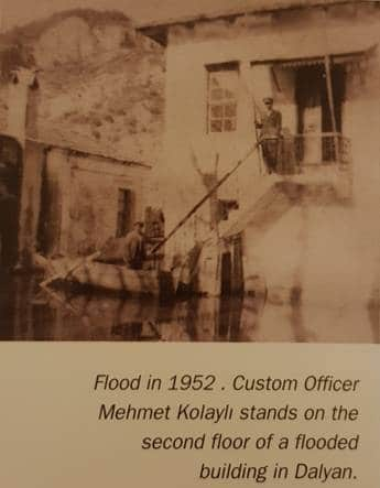 flood in 1952- Iztuzu Beach Dalyan