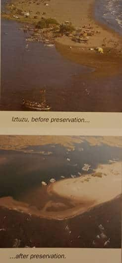 iztuzu beach before and after preservation