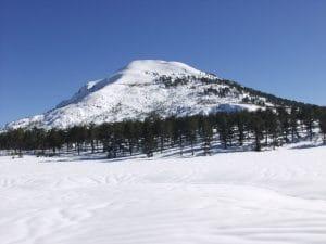 snow in köyceğiz