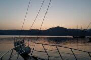 Sunset Sailing from Sarsala bay to Gocek - 26