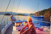 Sunset Sailing from Sarsala bay to Gocek - 16