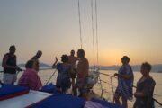 Sunset Sailing from Sarsala bay to Gocek - 10
