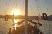 Sunset Sailing from Sarsala bay to Gocek - 20