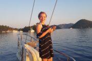 Sunset Sailing from Sarsala bay to Gocek - 21