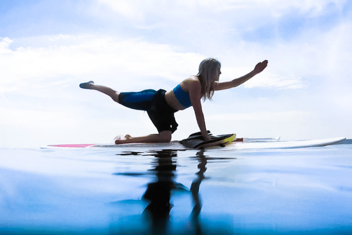 SUP Yoga at Iztuzu Beach - 1