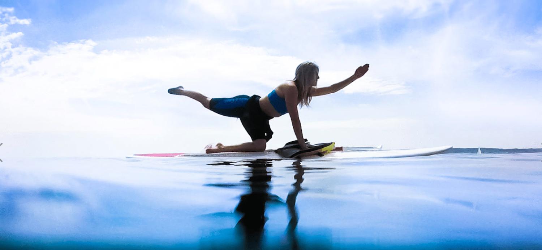 SUP Yoga at Iztuzu Beach - 1