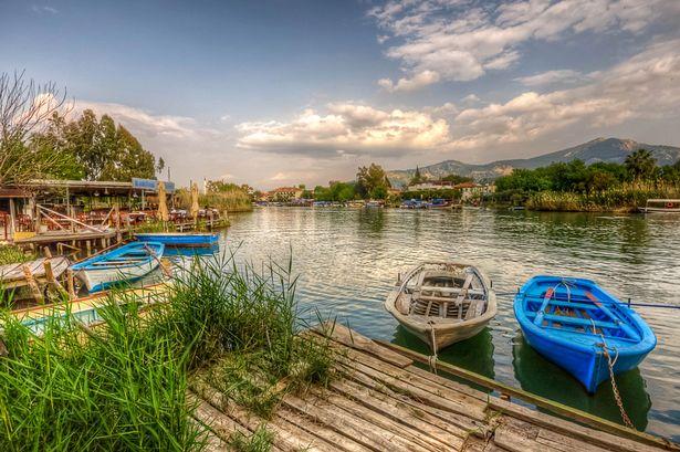 dalyan boats
