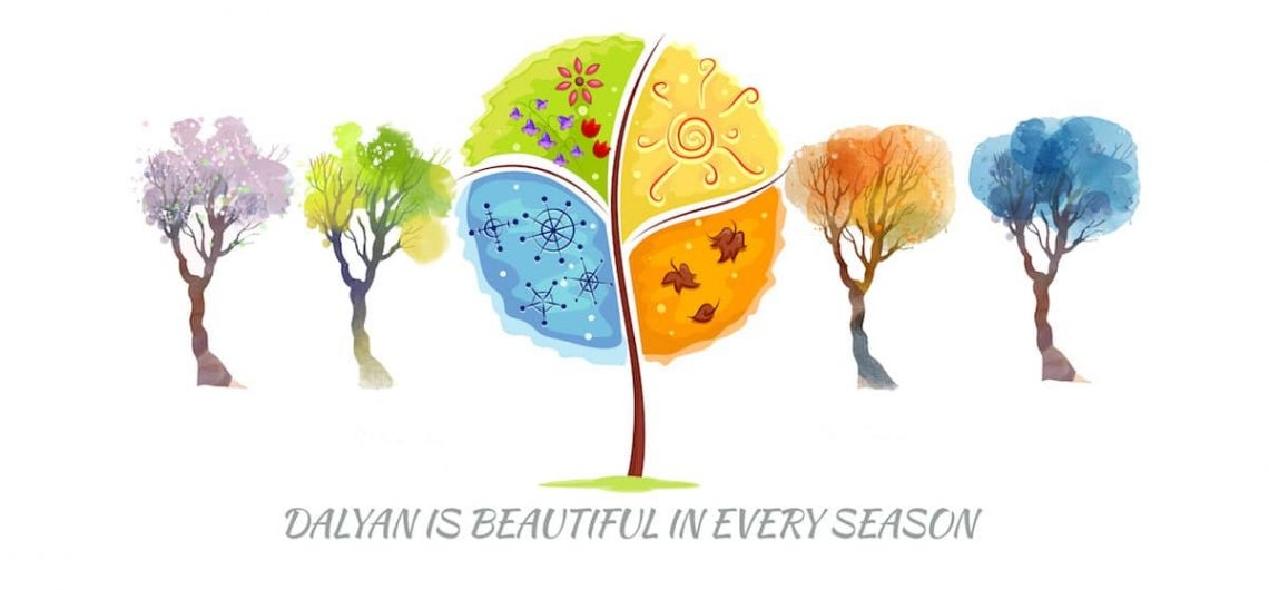 Dalyan is beautiful in every season - Dalyan Weather Information - Dalyan Weather Statistics - Dalyan Live Weather
