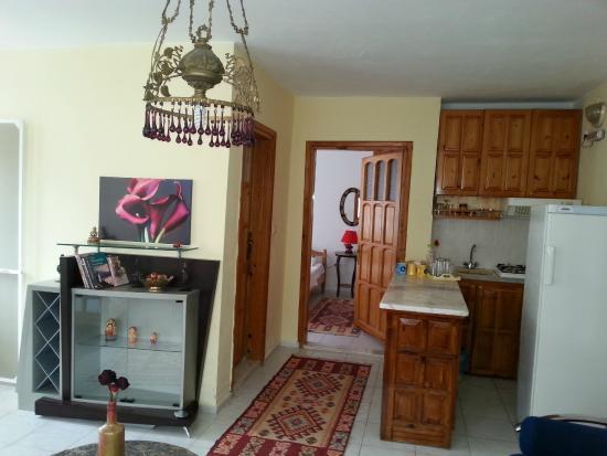 gala kitchen area