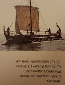 war ship of 5th century of Assoc
