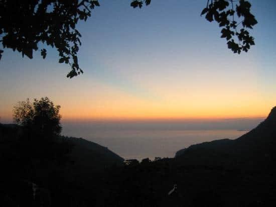 sunset restaurant views