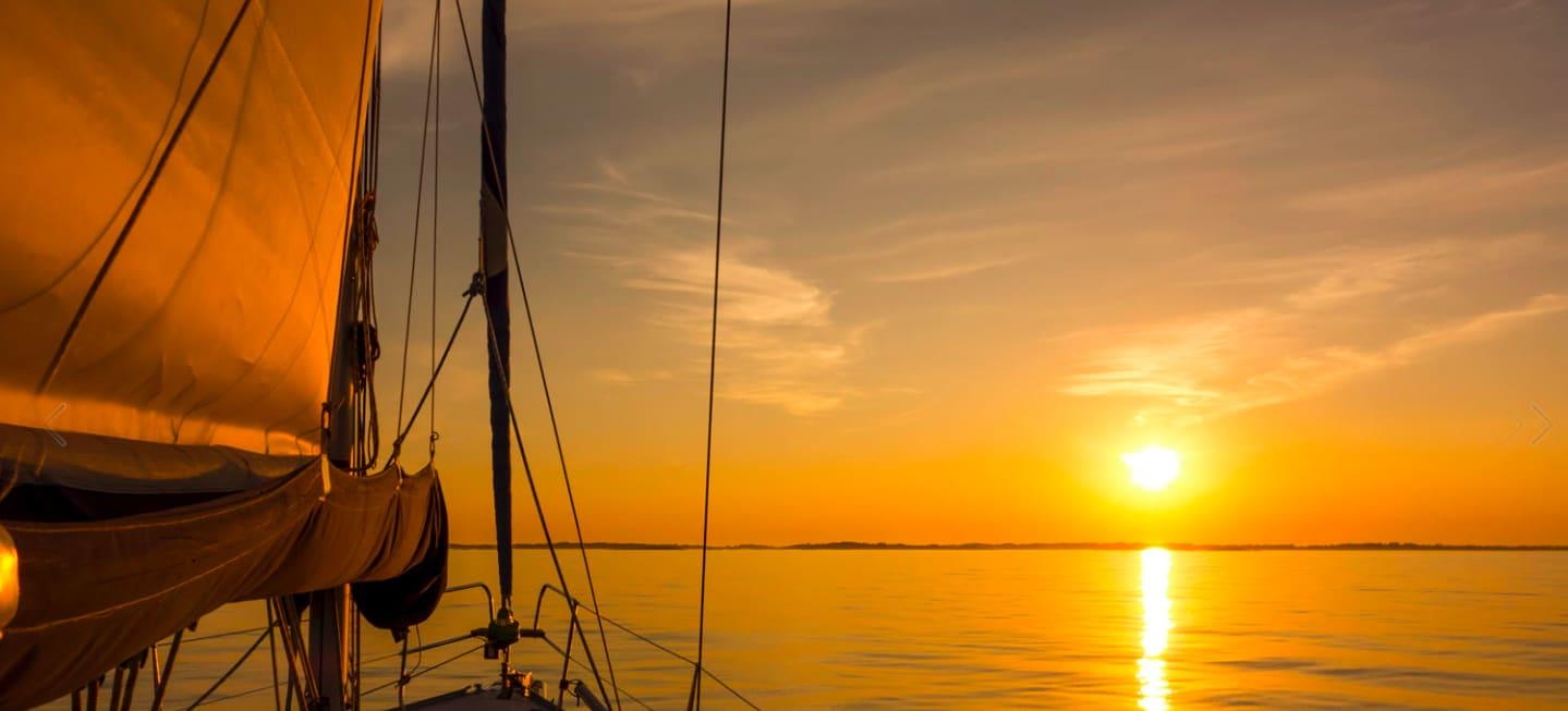 Sunset Sailing from Sarsala bay to Gocek - 1