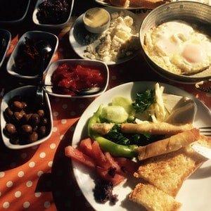 yalıçapkını breakfast