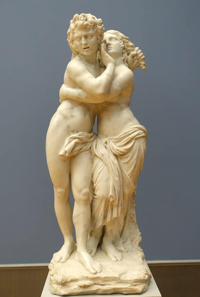Byblis and Caunos by Laurent Delvaux in Bode Museum - Byblis Myth