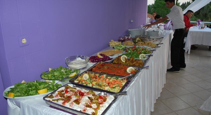Dalyan Terrace buffet selection