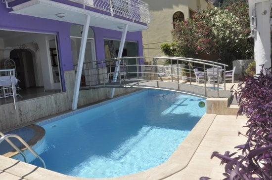 Dalyan Terrace outside pool