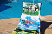 2 in 1 Beach Bag & Towel - Dalyan memories - Dalyan Gift - 4