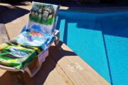 2 in 1 Beach Bag & Towel - Dalyan memories - Dalyan Gift - 5