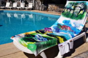 2 in 1 Beach Bag & Towel - Dalyan memories - Dalyan Gift - 6