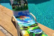 2 in 1 Beach Bag & Towel - Dalyan memories - Dalyan Gift - 3