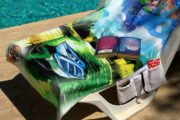 2 in 1 Beach Bag & Towel - Dalyan memories - Dalyan Gift - 2