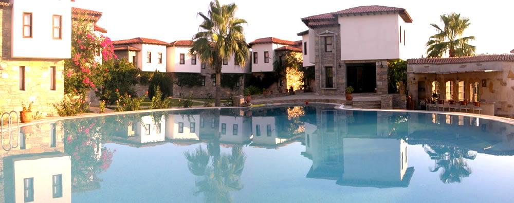 Osmanlı Hanı pool area