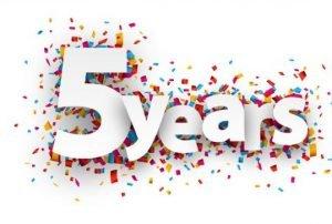5 year anniversary Volkan's Adventures