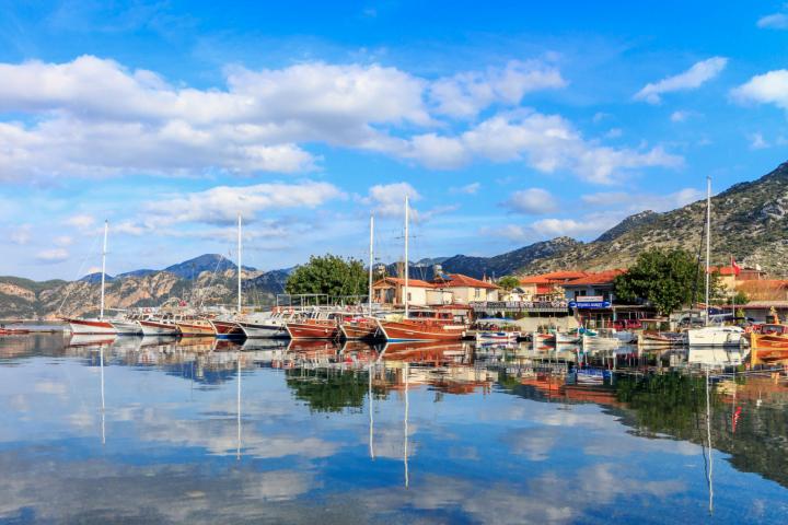 Volkan's Adventures - Mystical MURmaris Tour - Selimiye Harbour