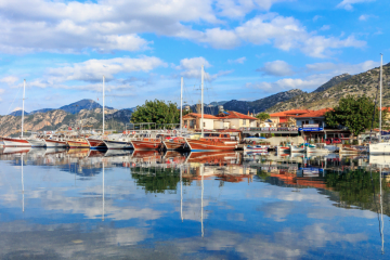 Volkan's Adventures - Mystical MURmaris Tour - Selimiye Harbour