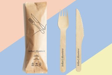 Birch Wood Cutlery - Volkan's Adventures Shop - Eco Friendly Products